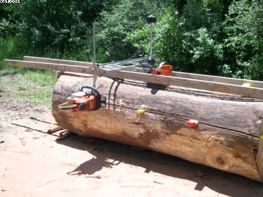 Alaskan Chainsaw Mill Guide Rails