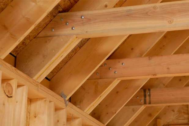 Raising Ceiling Joists Collar Ties Garage Www