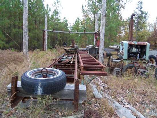 Antique Circular Sawmill