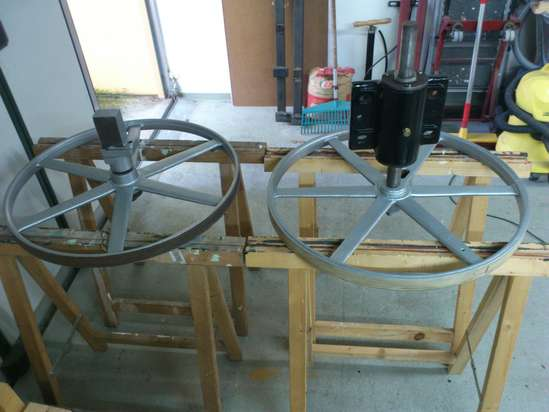 Diy Bandsaw Mill Wheels