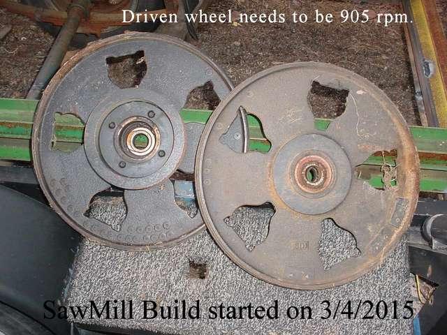 19 Bandsaw Mill Wheels