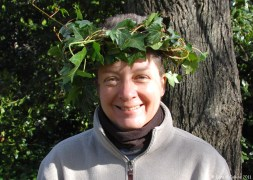 Eco Urban Ranger modelling an ivy crown