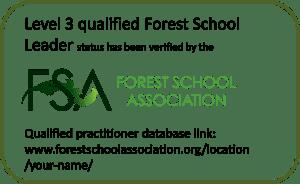 Forest School Leader badge