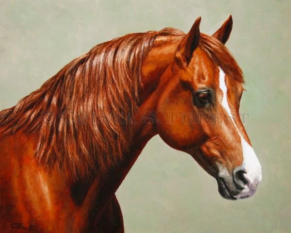 Morgan Horse Painting