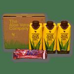 Forever Aloë Vera Gel mini (3stuks) +3 Argi sticks (Tri-pack)