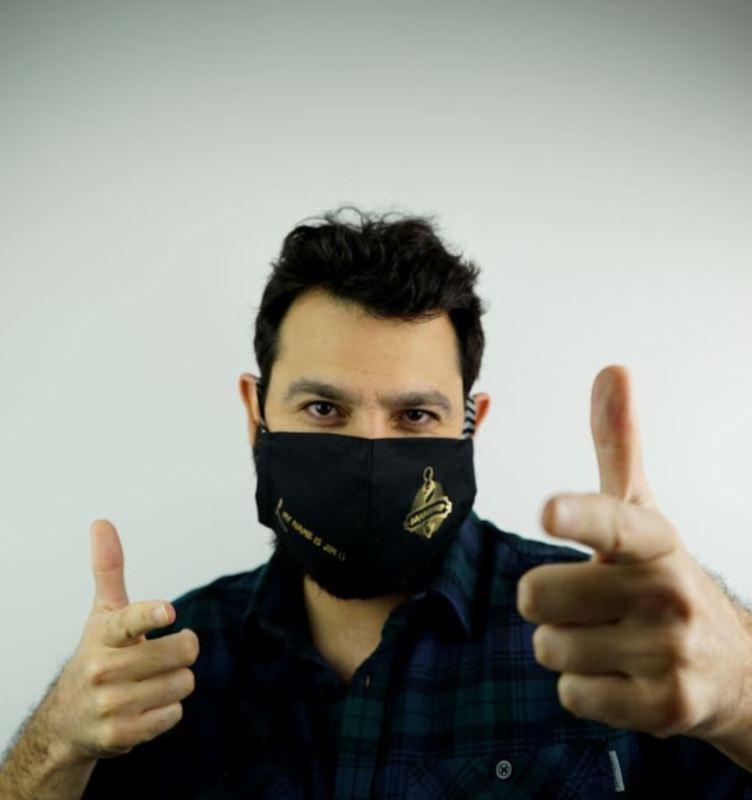 Masken bedrucken Flex-Soft No-Cut