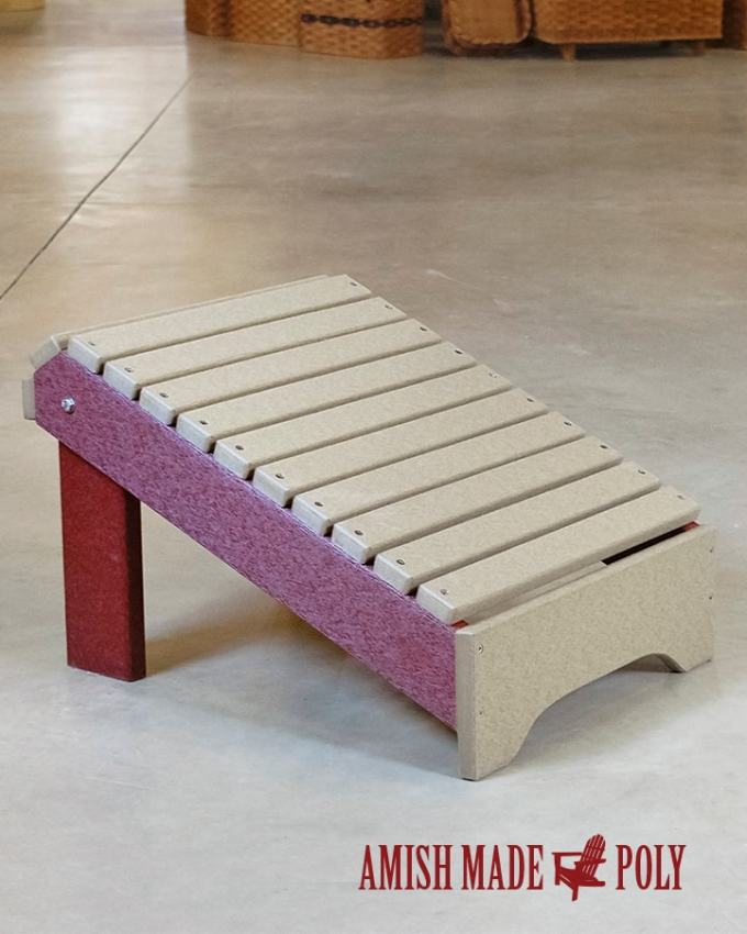 Amish Made All Weather Footstool