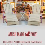 Amish Made Poly Deluxe Adirondack Package