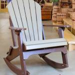 Amish Made Poly Adirondack Rocking Chair