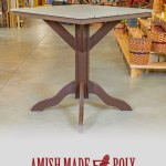 Amish Made Poly Counter Height Table
