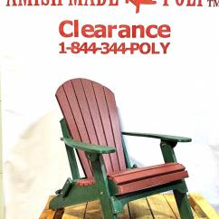 Amish Folding Adirondack Chair Plans Wooden Chairs Poly Cherry On Woodland Green Made