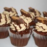 Ultimate Chocolate and Peanut Butter Cupcakes