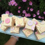 Party ring Rice Krispie treats