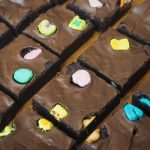 Lucky Charm Marshmallow Brownies