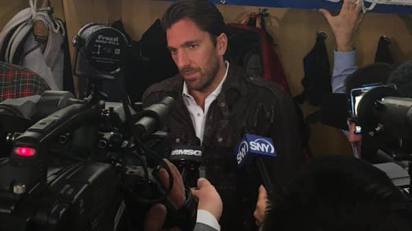 Henrik Lundqvist is a healthy scratch tonight for the Rangers - Forever Blueshirts: Best source for New York Rangers news, analysis and trade rumors
