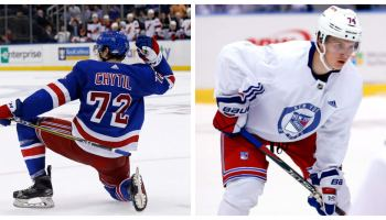 Rangers are loaded on the wings, but who is the 2nd line