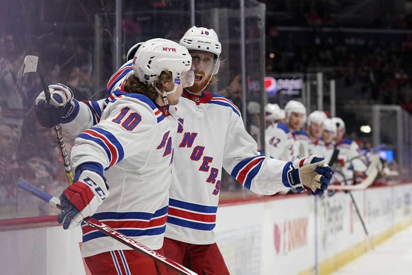 Rangers overmatched, Lose to Capitals 5-2 - FOREVER BLUESHIRTS