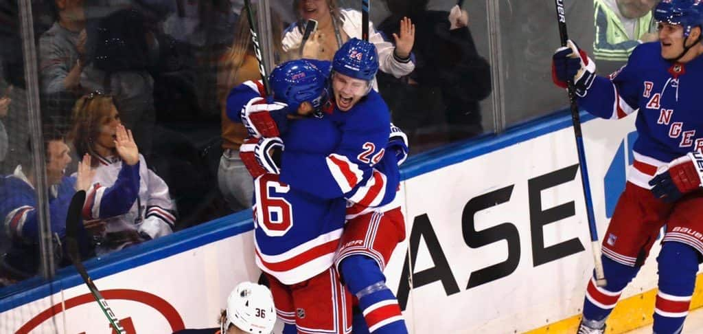 Rangers still searching for reliable offense from other lines, how about this one... - FOREVER BLUESHIRTS