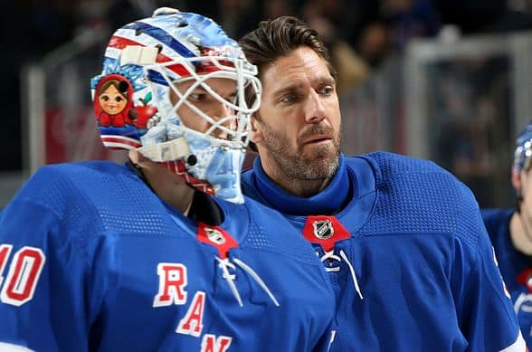 Lindgren to have hearing for actions in Rangers game against Avalanche