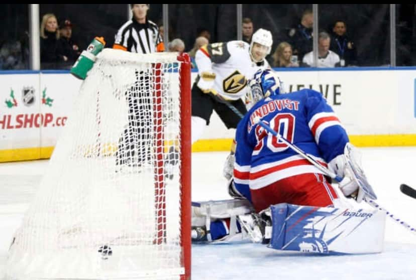 Tuch scores pair as Golden Knights top Rangers