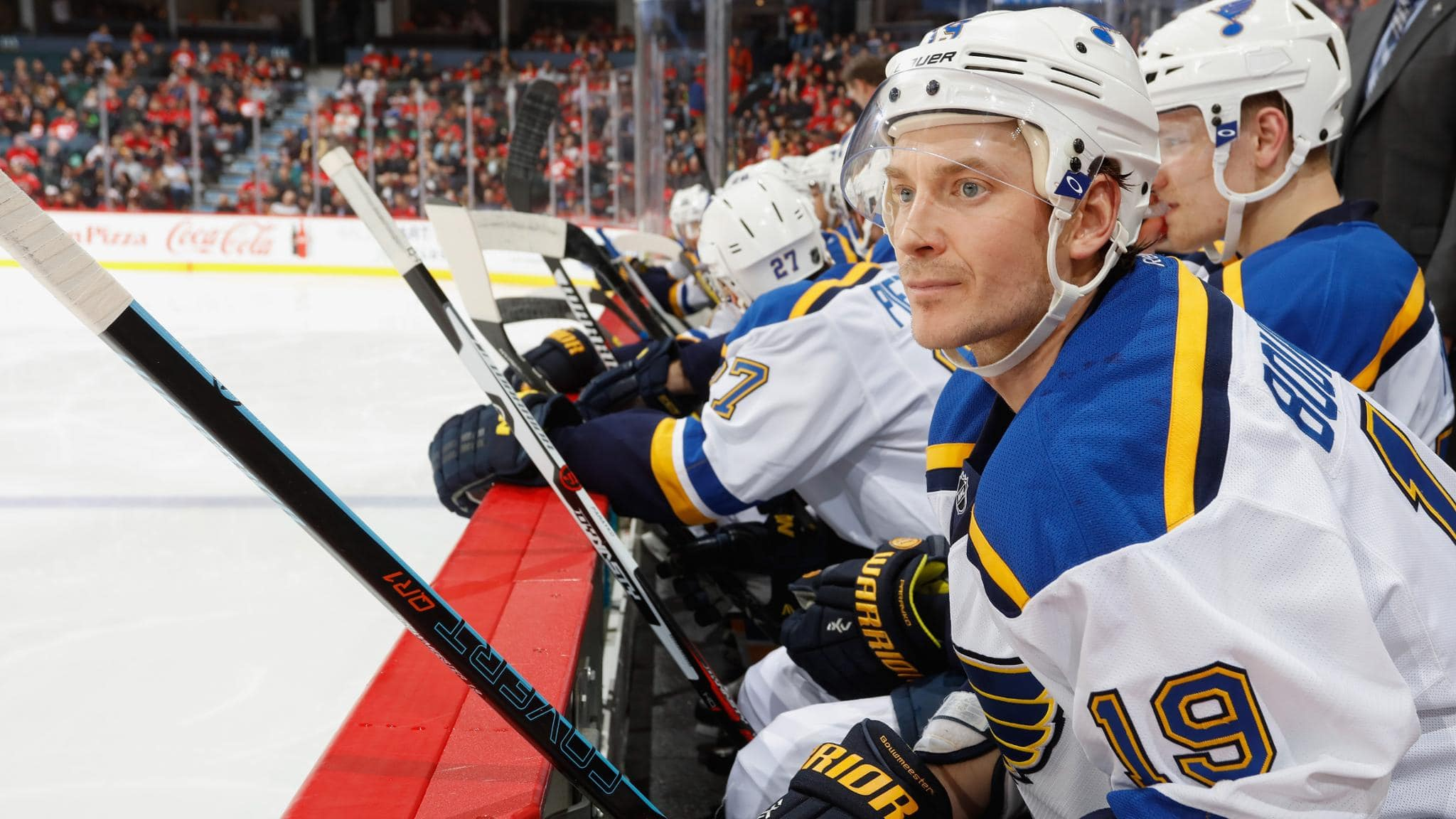 NHL's Jay Bouwmeester Rushed To Hospital After Collapsing Mid-Game, 'Cardiac Episode'