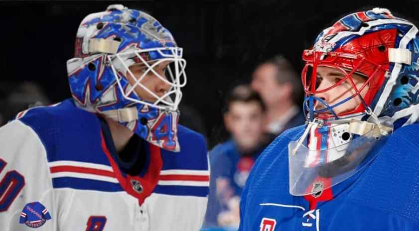 New York Rangers Training Camp: Utilizing Igor Shesterkin and Alexandar  Georgiev wisely in a short season - Forever Blueshirts: A site for New York  Rangers fanatics : Forever Blueshirts: A site for