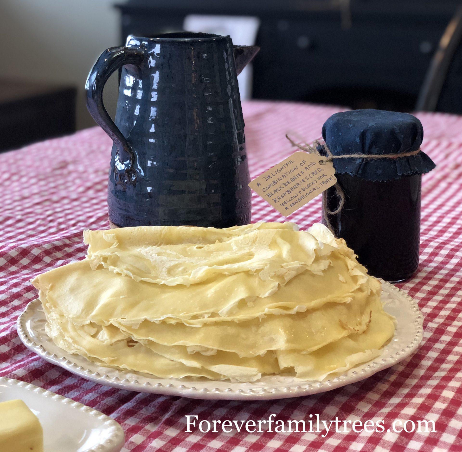 forever family trees recipes from the past: palacinka
