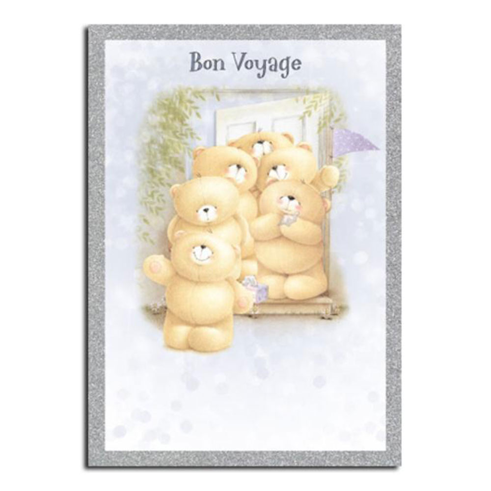 Bon Voyage Forever Friends Leaving Card Forever Friends