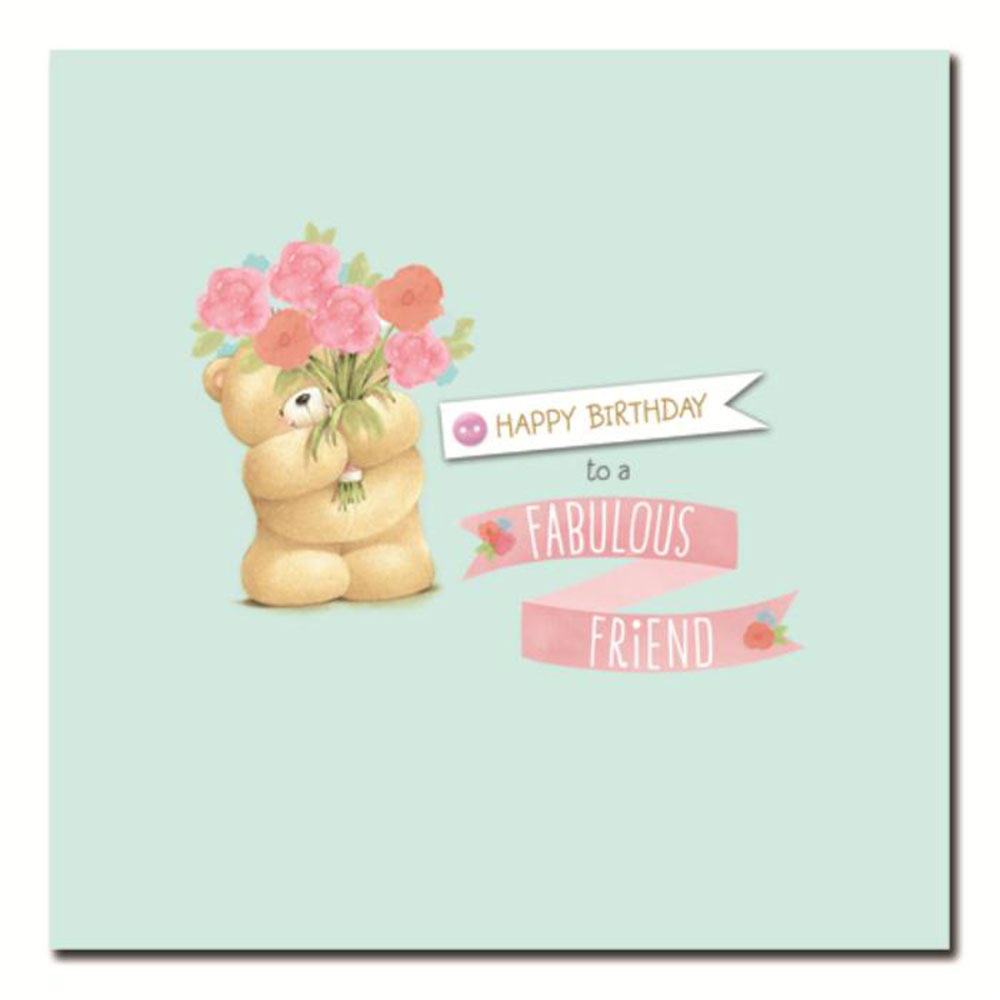 Fabulous Friend Forever Friends Birthday Card Forever