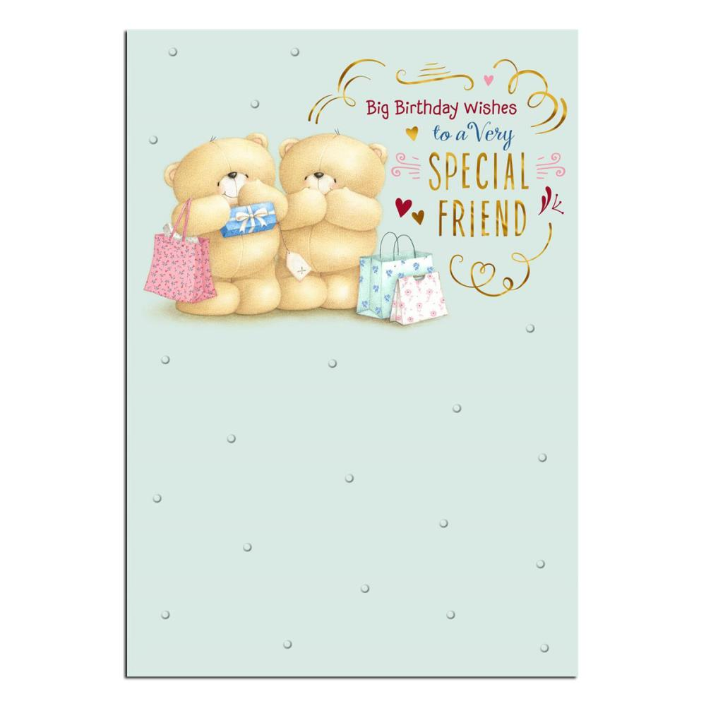 Special Friend Forever Friends Birthday Card Forever