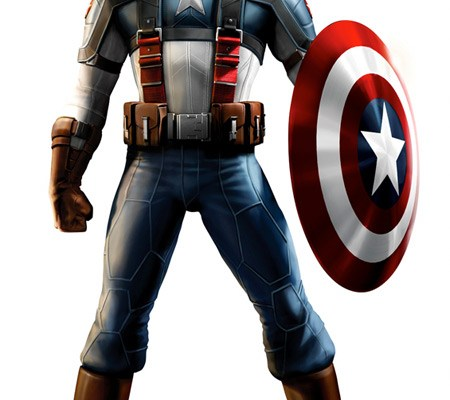 Captain America Outfit for The Ultimates