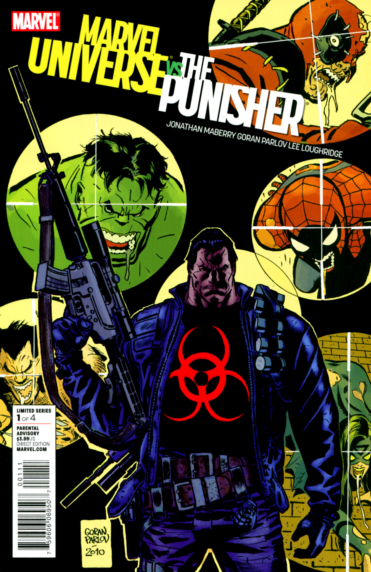 Marvel Universe Vs The Punisher Issue #1 (2010) Comic Book Review
