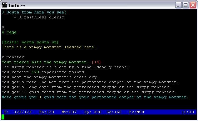 MUD Screenshot