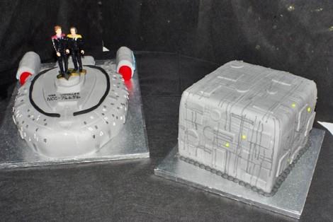 Star Trek Voyager Cube Cake
