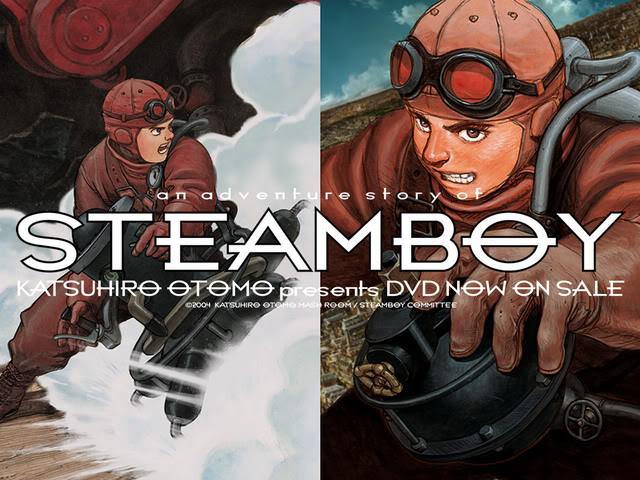 Steamboy - Review | ForeverGeek