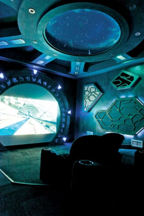stargate1 470x708 10 Awesome Home Theaters