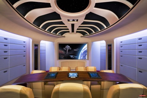 startrektng2 1 470x313 10 Awesome Home Theaters