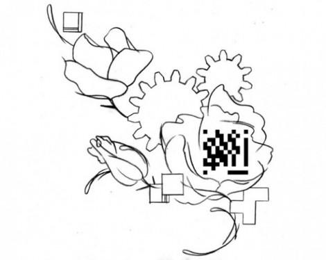 QR Code Tattoo KARL