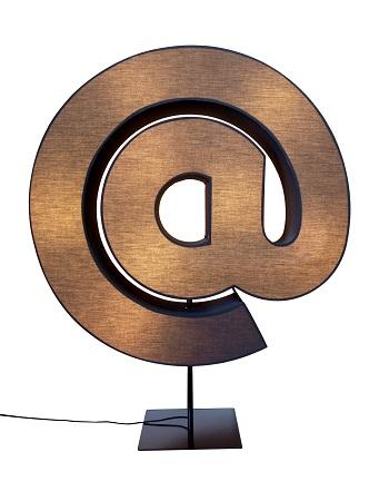 At Sign Lamp