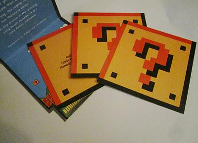 Super Mario Wedding Invitation - Cards