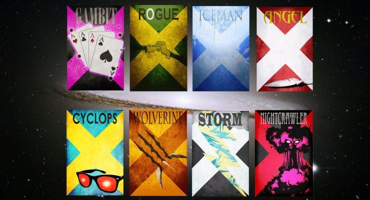 Xmen Minimalist Posters