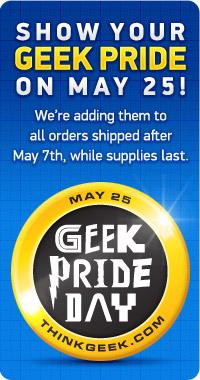 Geek Pride Button