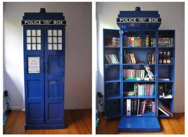 nerdy bookshelves