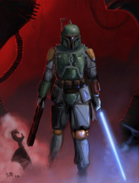 boba fett jedi sith force powers star wars what if