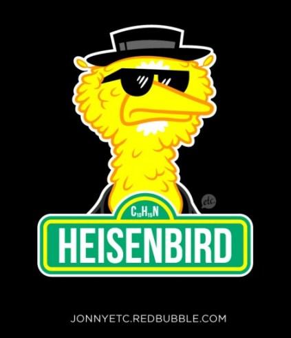 breaking bad mashup sesame street big bird