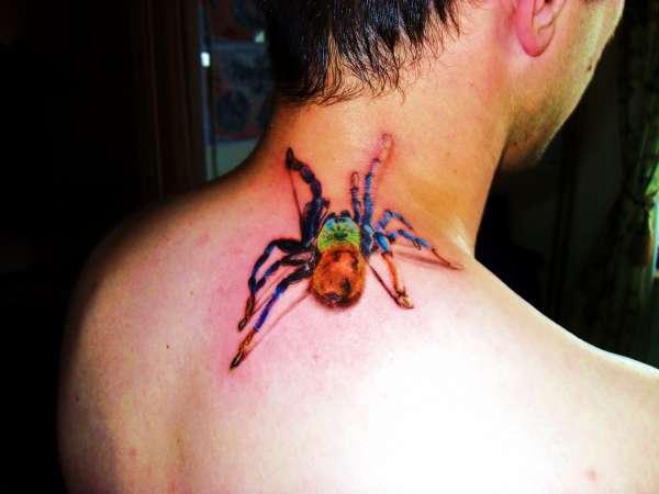 tarantula-neck-tattoo