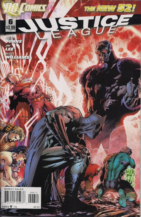 The strongest? The most powerful? The one who makes the Justice League bow? Darkseid is.