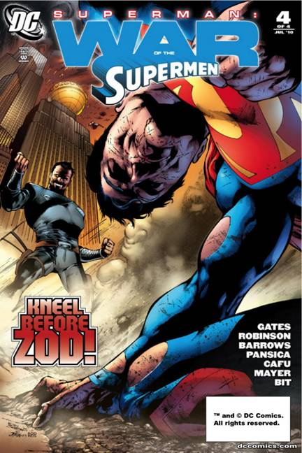 Zod represents the world's greatest fear about Superman: a superpowered Kryptonian without a conscience