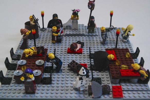 Red Wedding in LEGO