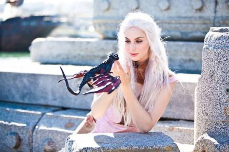 daenerys targaryen by maegan marie
